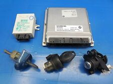 BMW E46 M3 S54 OEM DME ECU + EWS + Key/Tumbler + Door Lock & Trunk Lock (6 SPD)