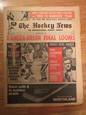 The HOCKEY NEWS March 5, 1971 Newspaper PHIL ESPOSITO 50-Goal Club BOSTON BRUINS