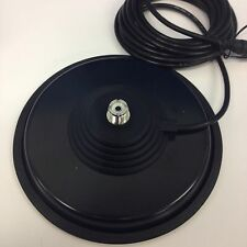 "JETSTREAM JTM-9SO MAMMOTH 7"" ANTENNA MAGNET MOUNT SO-239 FREE SHIP 3 YR WARR"