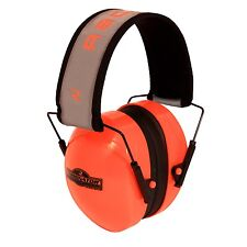 NEW RADIANS HI-VISIBILITY TERMINATOR FOLDING EAR MUFFS HEARING PROTECTION ORANGE