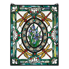 UNIQUE TIFFANY STYLE STAINED GLASS DRAGON CABOCHONS WINDOW ART HOME DECOR NEW