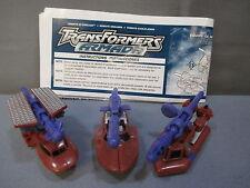 """Transformers Armada Mini-Con """"SEA TEAM"""" 100% complete C9 shape 2002"""