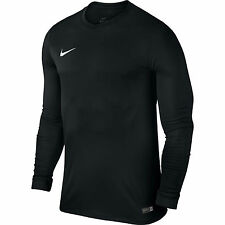 Nike Mens Park VI Long Sleeve Jersey Dri Fit Football Shirts Kits Top Sports