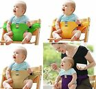 Kids Infant Belt Seat High Chair Portable Soft Fashion Going Out Travel Safety