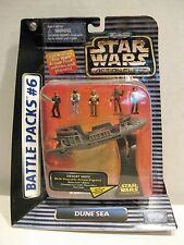 Star Wars Micro Machines Battle Pack #6 Dune Sea with Desert Skiff