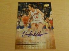 2014-15 UD MARCH MADNESS NCAA COLLECTION VINNY DEL NEGRO STICKER AUTO NC SATE