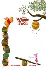 WINNIE THE POOH MOVIE POSTER 2 Sided ORIGINAL 27x40 JIM CUMMINGS