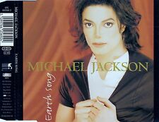 MICHAEL JACKSON : EARTH SONG / 5 TRACK-CD (EPIC EPC 662569 2) - NEUWERTIG