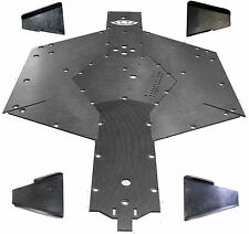 Kawasaki Teryx 4 UHMW A arm guard skid plate SSS Off Road FULL PACKAGE