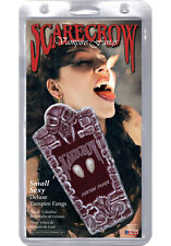 Vampire Fangs Small Scarecrow Deluxe Halloween Teeth Sexy Dracula Cosplay Role