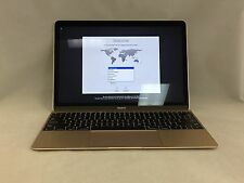 MacBook Gold 12 Early 2015 MF855LL/A 1.1GHz M 8GB 256GB Excellent
