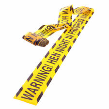 HEN PARTY WARNING TAPE BANNER DECORATIONS WALL BANNERS DO NIGHT SASH POLICE GIFT