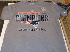New England Patriots Nike Trophy Collection Superbowl Champion shirt  S