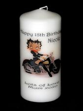 BETTY BOOP 18th - 60th   BIRTHDAY  Personalised Gift #6