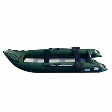 BRIS 13Ft Inflatable Kayak 2 Person Fishing Tender Poonton Inflatable Canoe Boat