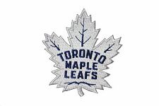 TORONTO MAPLE LEAFS NHL HOCKEY WHITE (NEW) EMBROIDERED IRON-ON PATCH CREST BADGE