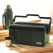 Stanley Cooler With Bottle Heritage Classic Green Lunchbox BPA Free NEW