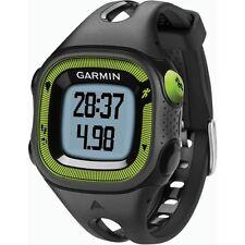 OROLOGIO ORIGINALE GARMIN Forerunner 15 running nero e verde GPS 010-01241-30