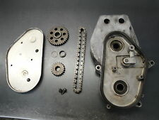 86 1986 POLARIS INDY 600 SNOWMOBILE BODY ENGINE MOTOR CHAINCASE GEAR CHAIN CASE