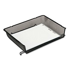 Rolodex Nestable Mesh Stacking Side Load Letter Tray, Wire, Black, EA - ROL62555