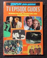 1982 Starlog Photo Guidebook v.2 SC FN+ 6.5 TV EPISODE GUIDES Twilight Zone POTA