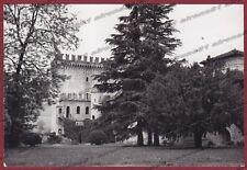 PIACENZA PONTE DELL'OLIO 04 RIVA - CASTELLO Cartolina FOTOGRAFICA viaggiata 1961