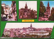 POSTAL SEVILLA . MONUMENTOS DE LA CIUDAD  . MIRA MAS EN MI TIENDA CC2777