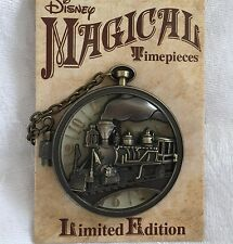 Disney Trading Pin - Magical Timepieces - Disneyland Railroad - LE 2000