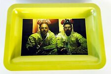 Breaking Bad Metal Cigarette Rolling Tray (Yellow)