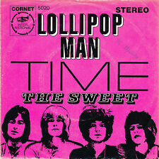 "7"" - The Sweet - Lollipop Man / Time - Cornet 5020 - DE 1969"