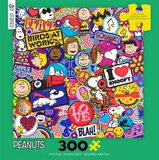 CEACO JIGSAW PUZZLE PEANUTS FLAIR SNOOPY 300 PCS #2239-3