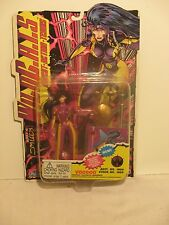 """Jim Lee's Wild C.A.T.S. Voodoo 6"""" Action Figure Special Edition Collector Card"""