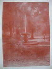 stampa antica Castelli Romani FRASCATI VILLA TORLONIA ONORATO CARLANDI 1904