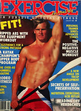VINTAGE EXERCISE FOR MEN ONLY MAGAZINE- JANUARY 1990 (RARE)