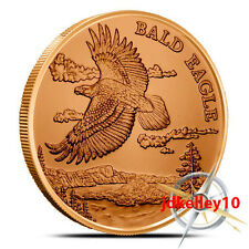 American Wildlife Series | Bald Eagle | 1 oz .999 Copper Round Collectors Coin