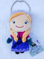 "Authentic Disney Store Frozen PLUSH ANNA DOLL COIN PURSE Toy 8"" Age 3+ NWT"