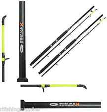 2 X BRAND NEW BOAT FISHING RODS BOAT MAX 6FT 2 PIECE 25LB SEA FISHING ROD NGT