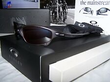 NIB VHTF OAKLEY JULIET BROWN FRAME VR28 BLACK IRIDIUM LENSES SERIAL #'D X-METAL