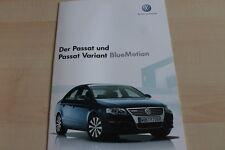 132979) VW Passat + Variant BlueMotion Prospekt 05/2007