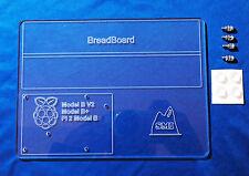 Raspberry Pi Acrilico prototipazione di montaggio/piastra di base/semisferasup per mb-102