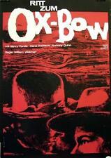 Fonda Quinn RITT ZUM OX BOW  Plakat A1 WA gerollt !