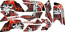 YAMAHA RAPTOR 660R full graphics kit ORANGE
