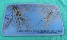 2000 OLDSMOBILE BRAVADA YEAR SPECIFIC SUNROOF GLASS PANEL  OEM FREE SHIPPING!