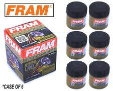 6-PACK - FRAM Ultra Synthetic Oil Filter - Top of the Line - FRAM's Best XG3506