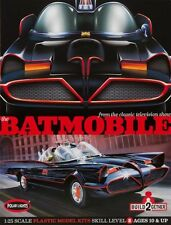 Polar Lights [PLL] 1:25 Batmobile 2 Pack Plastic Model Kit POL907 PLL907