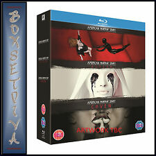 AMERICAN HORROR STORY - COMPLETE SEASONS 1 2 & 3 ***BRAND NEW BLU-RAY BOXSET**
