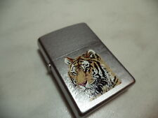 ZIPPO ACCENDINO LIGHTER TIGER PRIMER VERY RARE NEW + INSERTO JET FLAME NEW