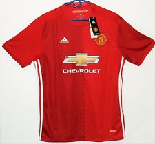 2016#10 Wayne Rooney, red, mens, Adidas, Manchester United jersey L+