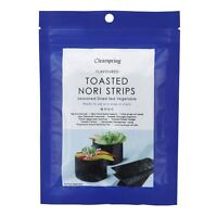 Clearspring Toasted Nori Strips 13.5g (Pack of 4)