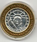 Limited Edition Ten Dollar Gaming Token McCarran Airport Las Vegas, NV .999
